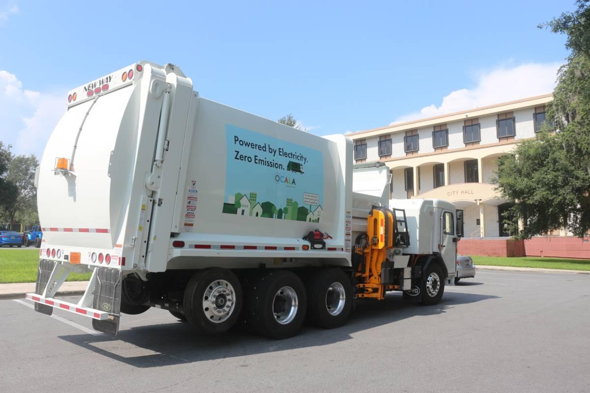 Florida Municipality Adds Electric-Powered Refuse Trucks
