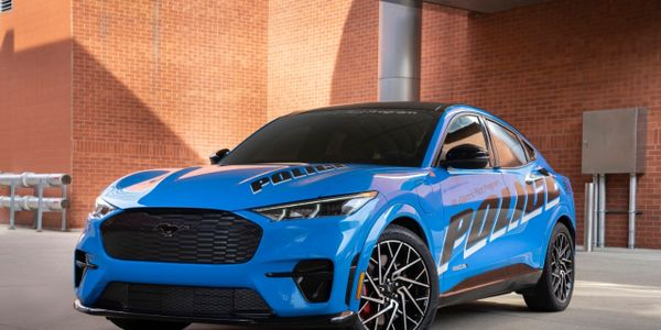 Mach-E Passes Michigan State Police Vehicle Tests