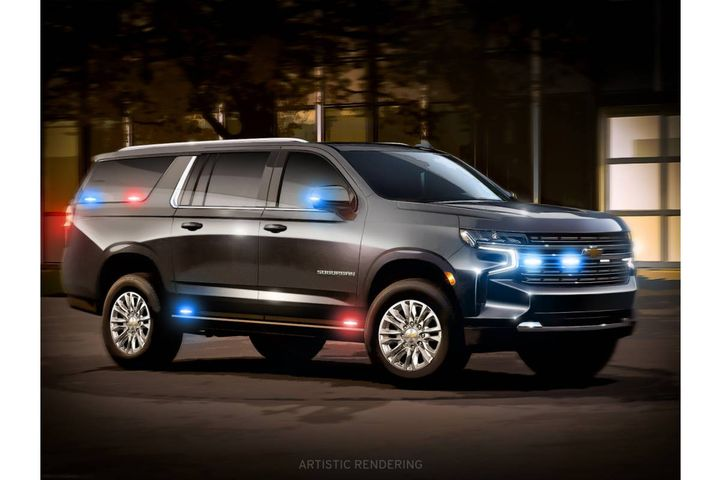 As part of the total development contract, GM Defense will create a purpose-built heavy-duty Suburban, building 10 vehicles over the next two years. - Photo: GM