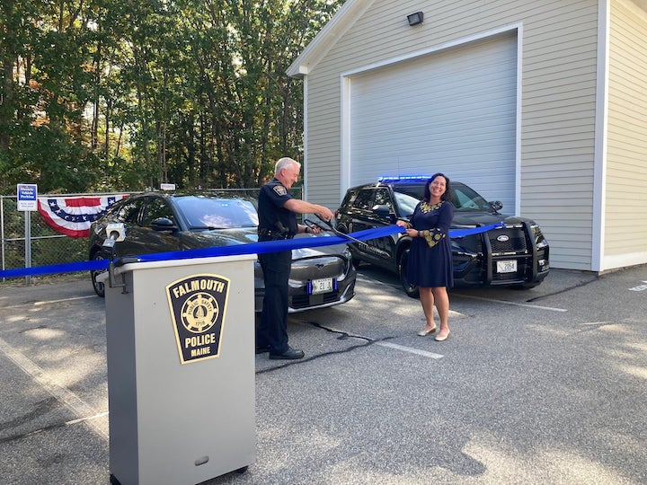Maine PD Adds EV Charging Stations for Its Fleet