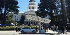 California State DMV Orders 15 Solar-Powered EV Chargers