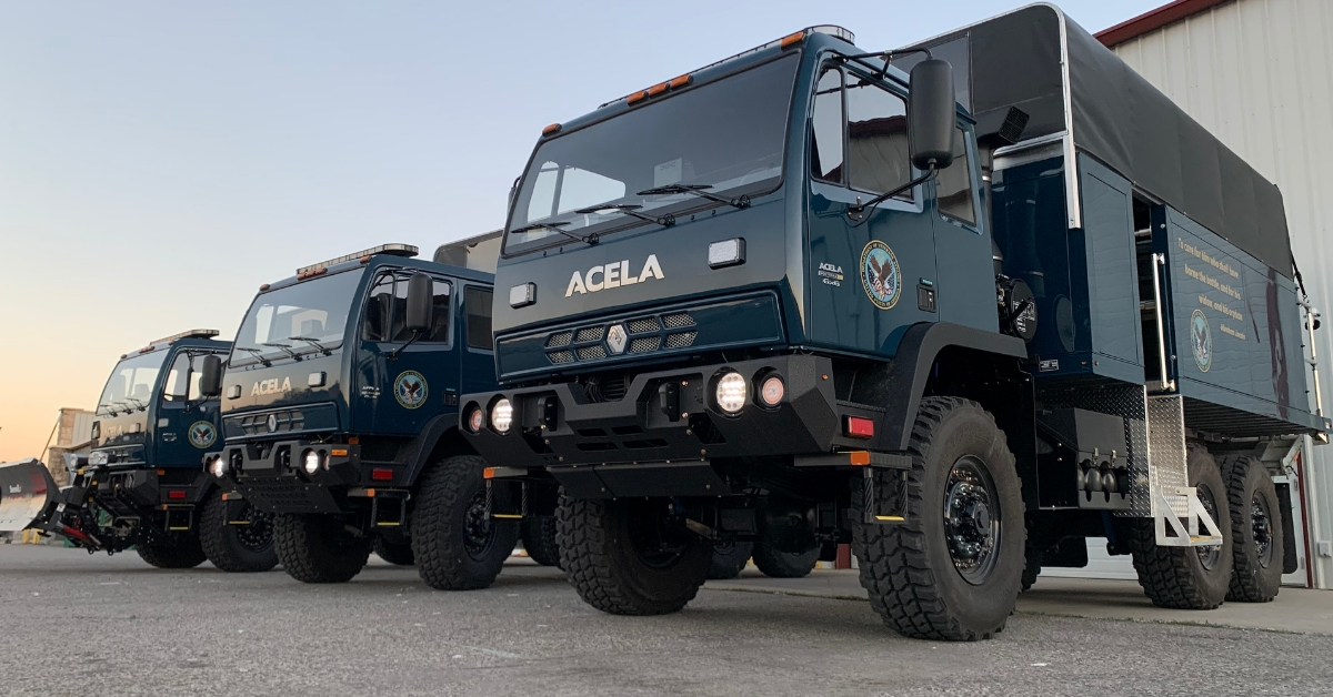 Veteran's Health Administration Adds High Water Flood Rescue Trucks
