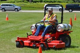 Ill. Agency's Propane Autogas Mowers Reduce Fuel Costs