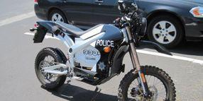 Sebastopol Police Uses Electric Motorcycle for Patrol