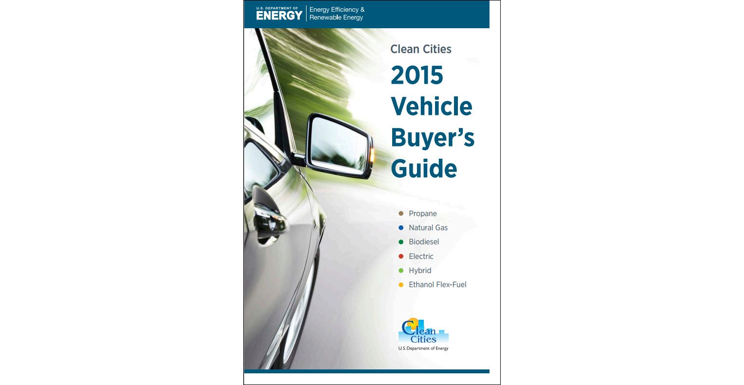 Clean Cities Releases 2015 Vehicle Buyer's Guide