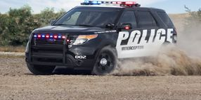 Ford to Offer 365 Hp EcoBoost V-6 for Police Interceptor Utility