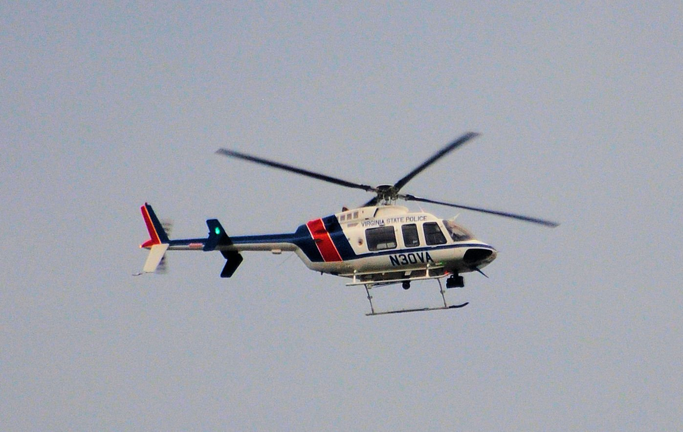 Helicopter in Va. Police Crash Had Past Engine Problems