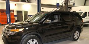 Bi-Fuel Propane Autogas Ford P.I. Utility in Development