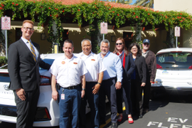 Calif. City Unveils Electric Vehicle Fleet