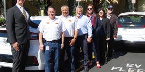 Calif. City Unveils Electric Vehicle Fleet