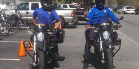 Ga. County PD Takes Delivery of Electric Motorcycles