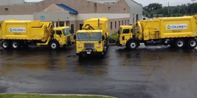 Columbus Takes Delivery of CNG Refuse Trucks