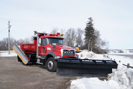 Ohio City Adds Trucks to Plow County, State Roads