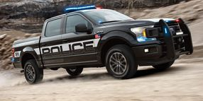 Ford Reveals F-150 Police Responder