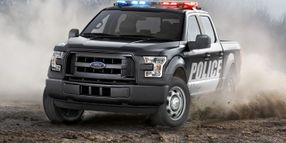 Ford Offers F-150 Special Service Truck for Police