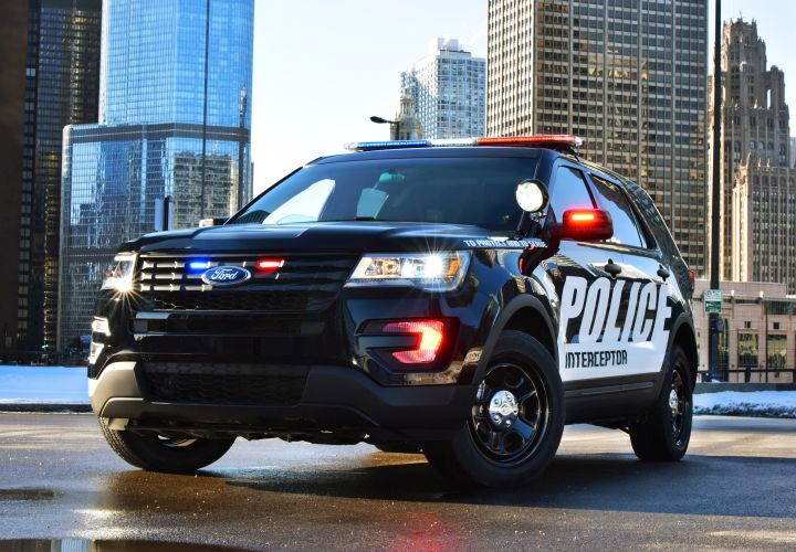Ford Updates P.I. Utility Pursuit-Rated SUV