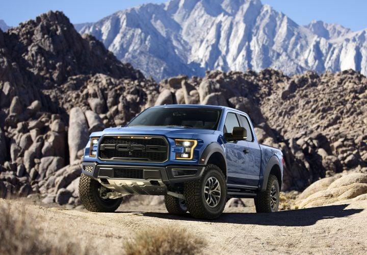 Ford's 2017 Aluminum Raptor Sheds 500 Pounds