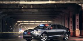 Ford Launches Special Service Plug-In Hybrid Sedan