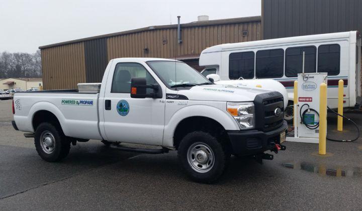Va. County Succeeding With Propane Autogas