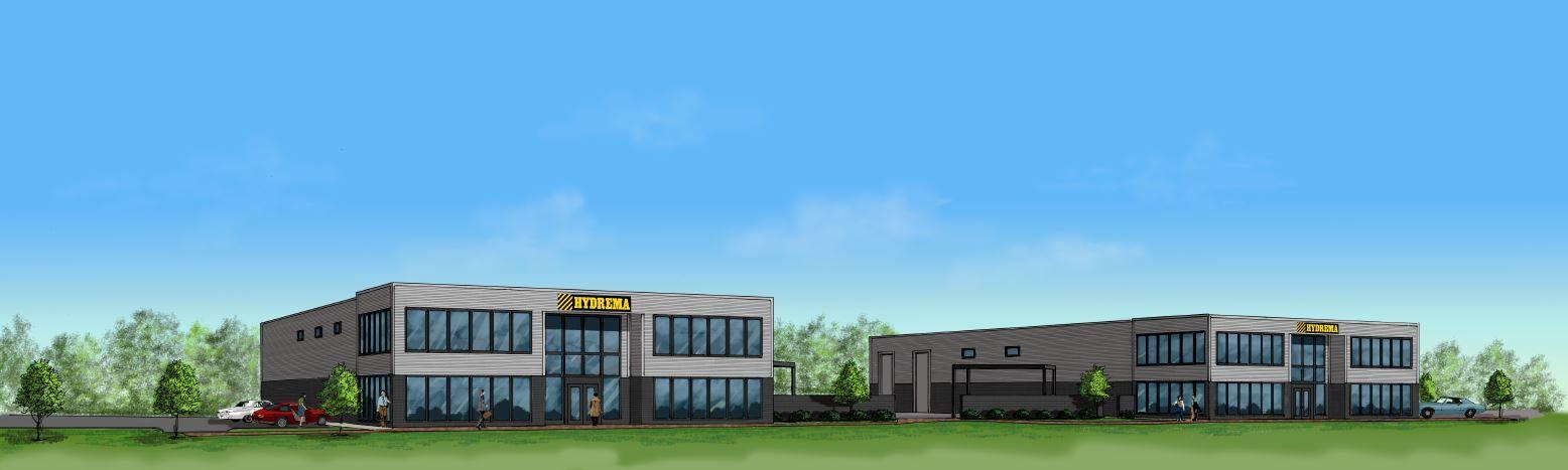 Hydrema Breaks Ground on New North American Headquarters