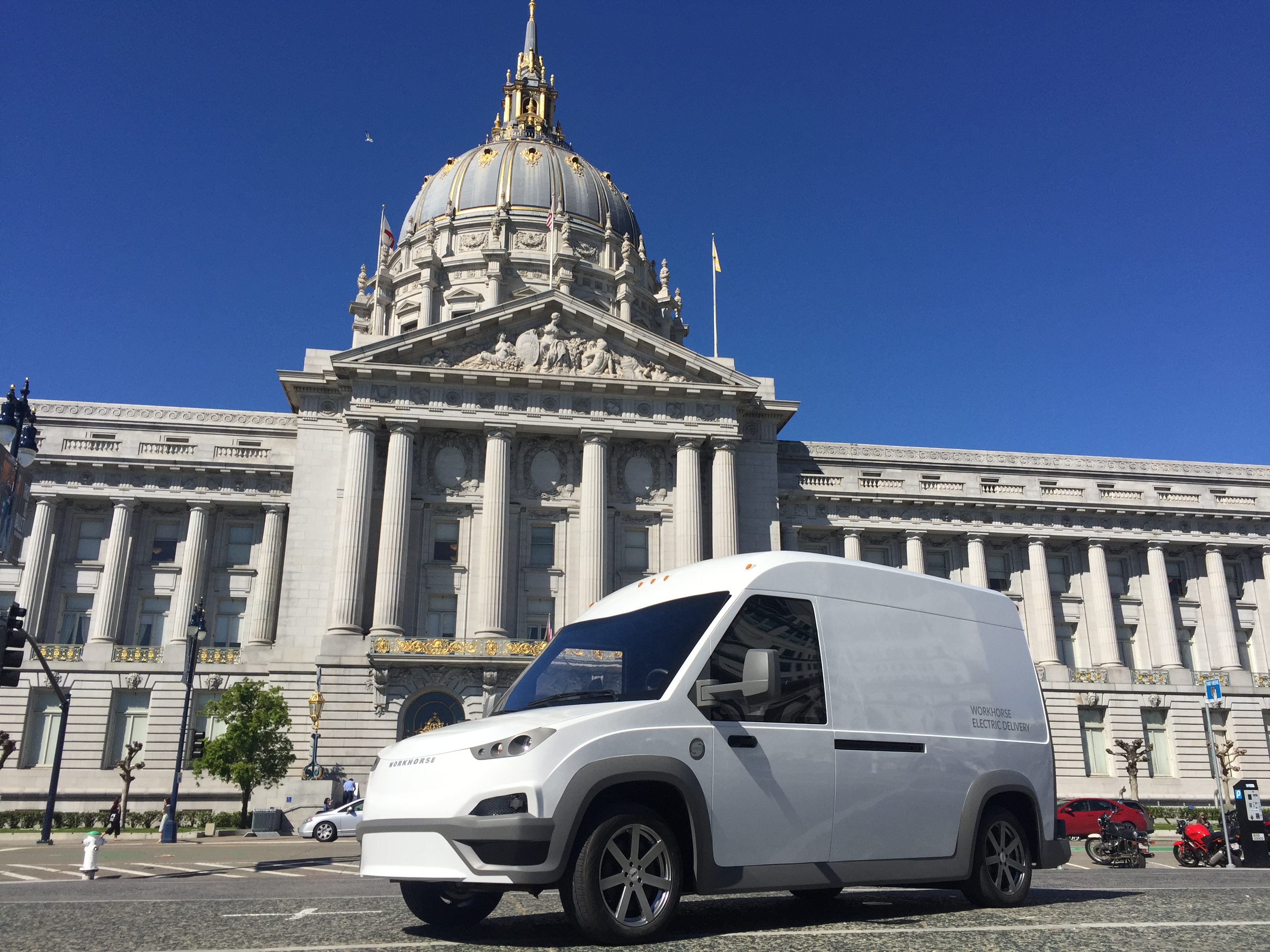 Workhorse's New Electric Van — Not Just for Deliveries