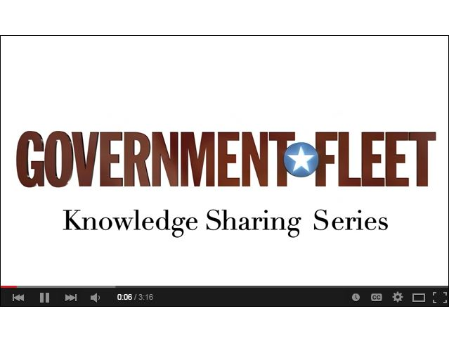 Government Fleet Launches Knowledge Sharing Video Series