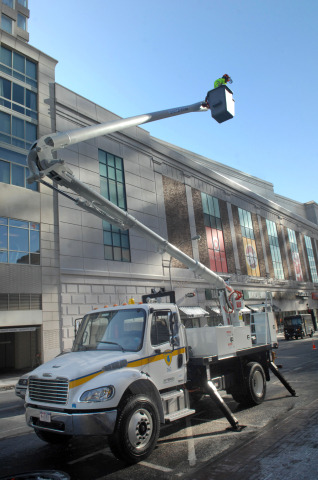 City of White Plains and New York Power Authority Partner to Purchase Diesel-Electric Hybrid Bucket Truck