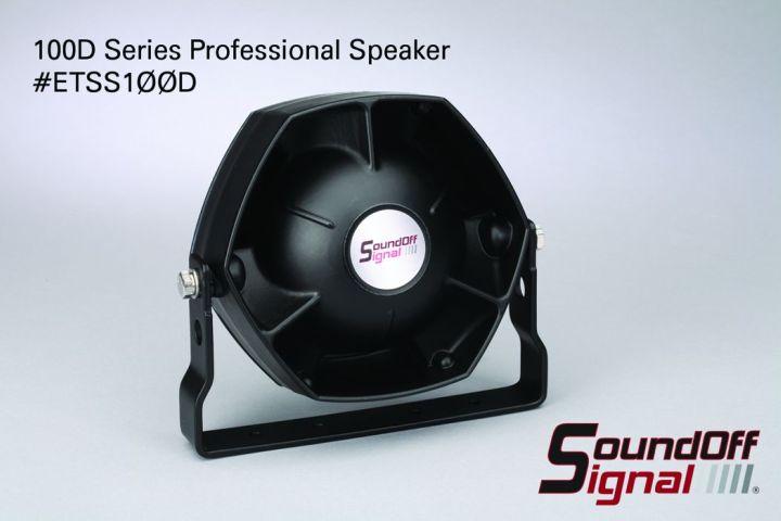 SoundOff Signal Announces 100D Series Professional Speaker
