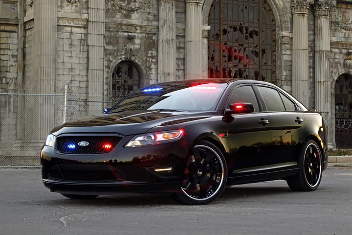 Stealth Ford Police Interceptor Debuts at SEMA Show