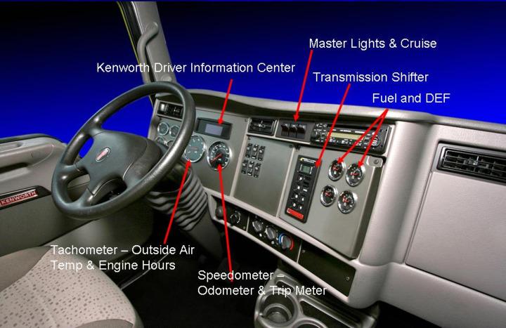 Kenworth Medium Duty Models Add Multiplex Instrumentation, Driver Information Center
