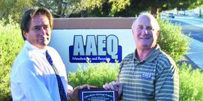 AAEQ Manufacturers & Recyclers Honored For Role in Clark County Lawn Mower Exchange Program