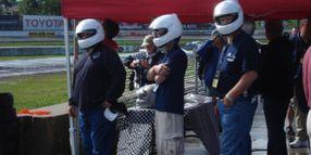 Fleets Test Braking System at 2009 Police Fleet Expo