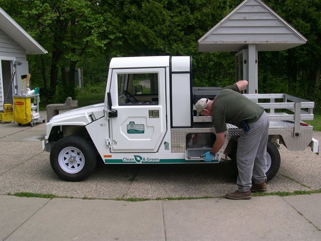 Wisconsin State Parks Using Electric Vehicles for Routine Maintenance