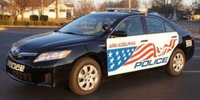 City of Arkadelphia Unveils Camry Hybrid Police Cars