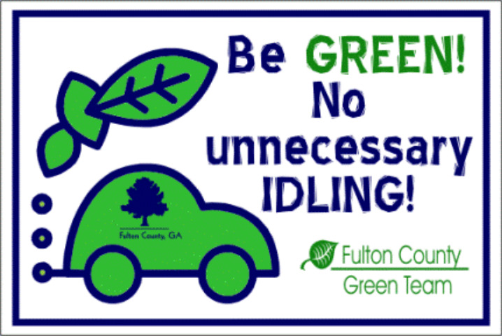 Fulton County Adopts Anti-Idling Policy