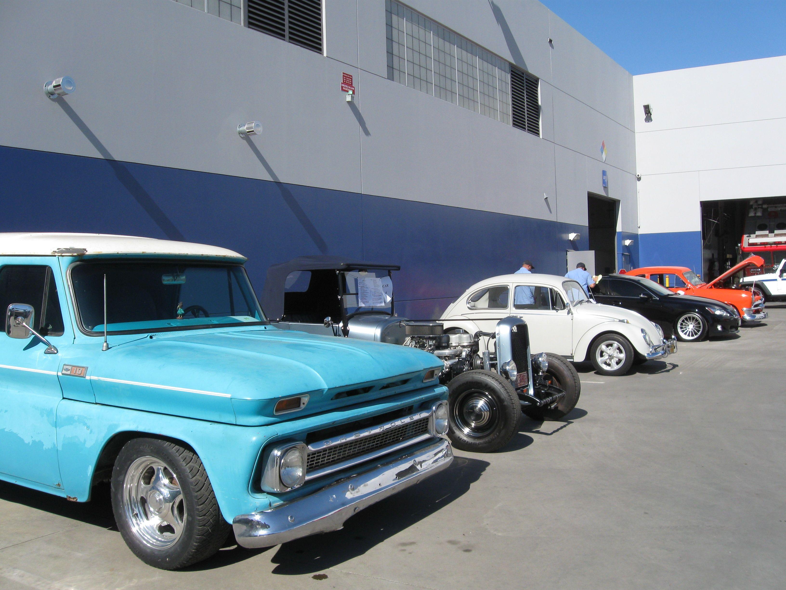 City of Long Beach Holds Annual Fleet Car Show