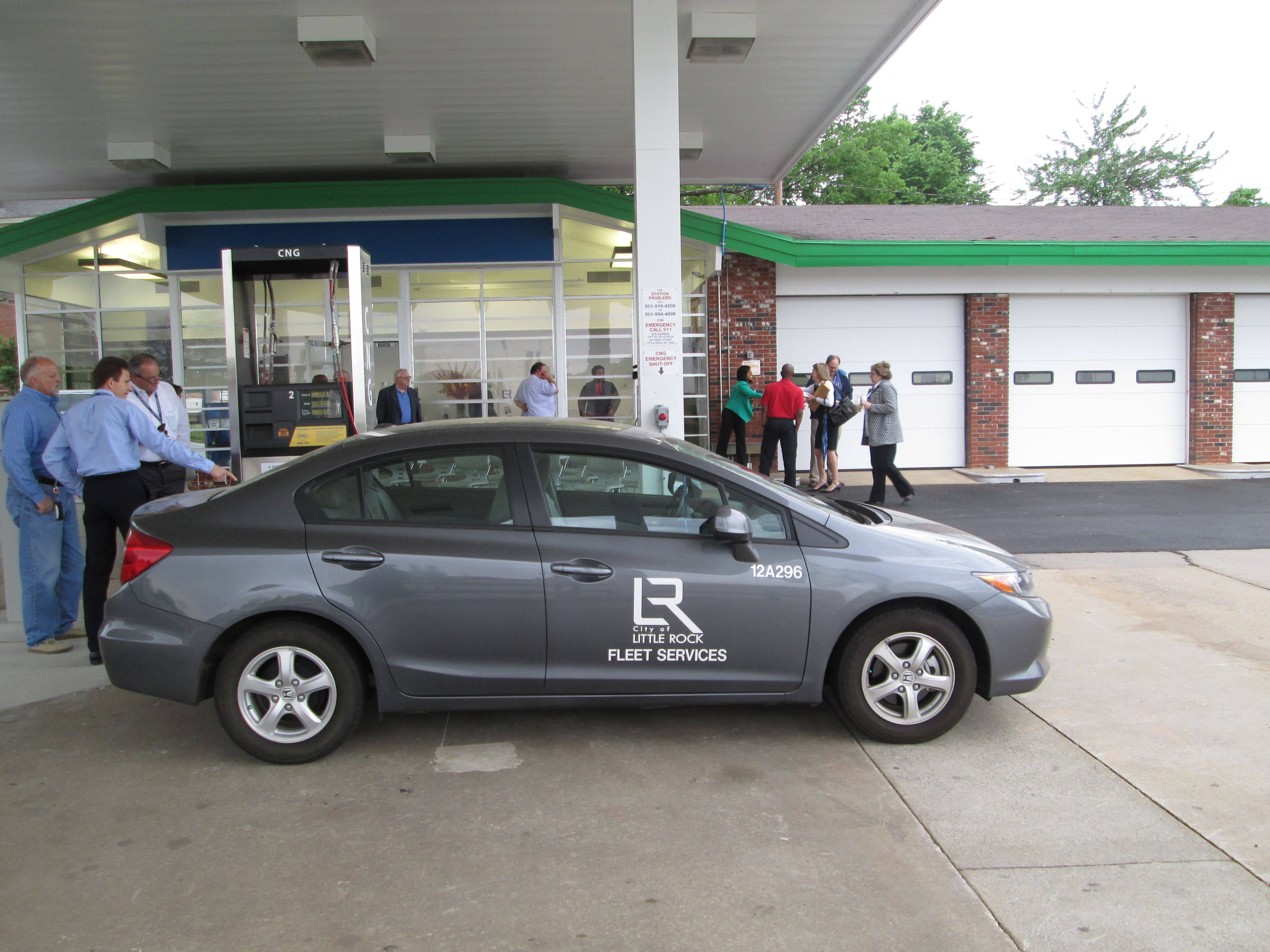Ark. City Opens CNG Fueling Station