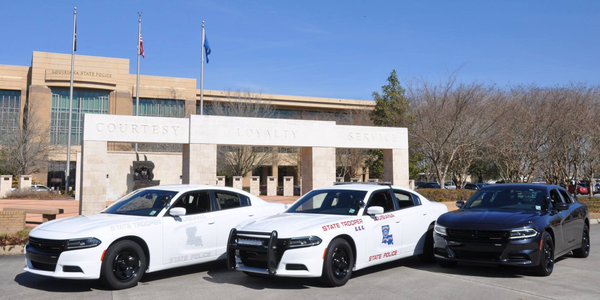 Louisiana State Police has added Dodge Chargers to its fleet, including semi-marked, marked, and...