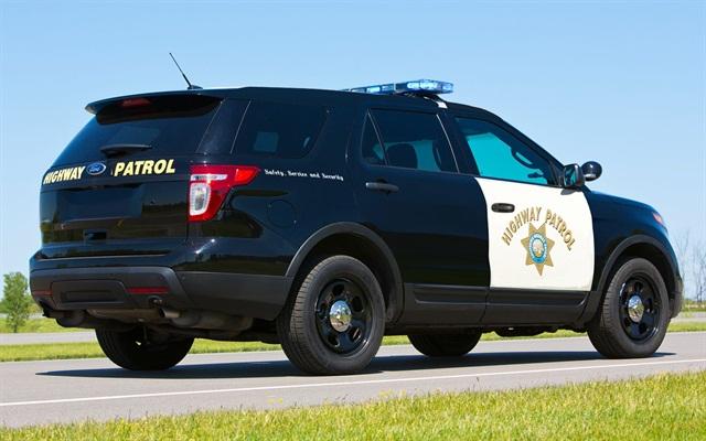 Ford's Police Interceptor Utility. Photo courtesy: California Highway Parol.