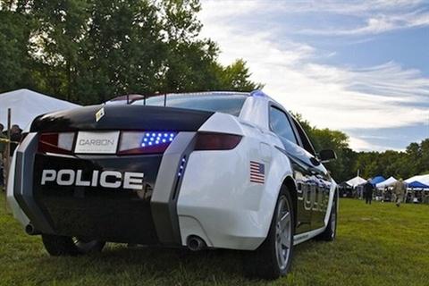 Carbon Motors' E7. Photo Credit: Carbon Motors.