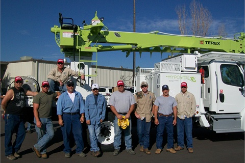 City staff are shown during the HyPower delivery and training day.
