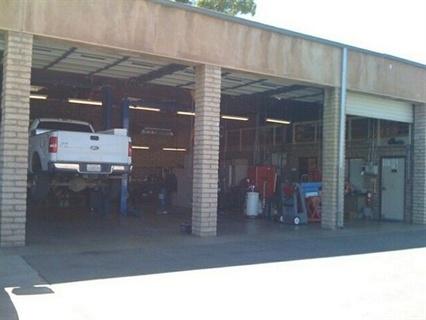The Hemet fleet facility services light-duty vehicles, including public safety units.