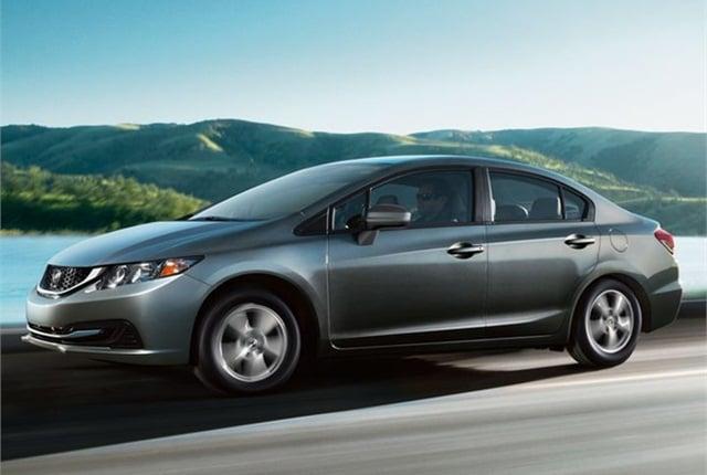 Photo of 2014 Civic Natural Gas courtesy of Honda.