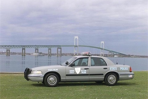 A Rhode Island state police cruiser. Photo courtesy State of Rhode Island.