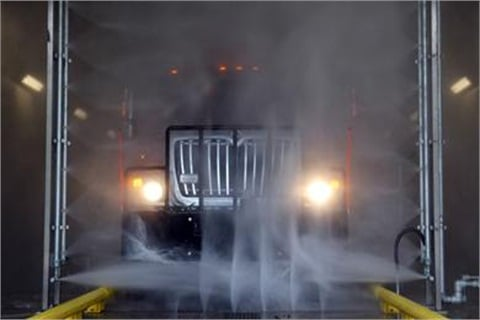 The new municipal wash will be used by 53 municipalities in the region.Photo courtesy Monmouth County.