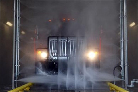The new municipal wash will be used by 53 municipalities in the region. Photo courtesy Monmouth County.