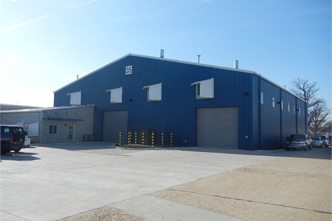 The Smithsonian Insitution's new vehicle repair shop is located in a 14,000 sq. ft. building.