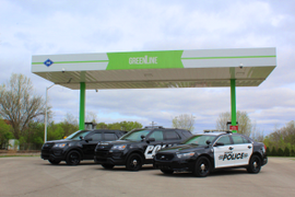 Ind. City Unveils CNG Patrol Cars