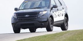 Oakland Police Get 82 Ford P.I. Utility Vehicles