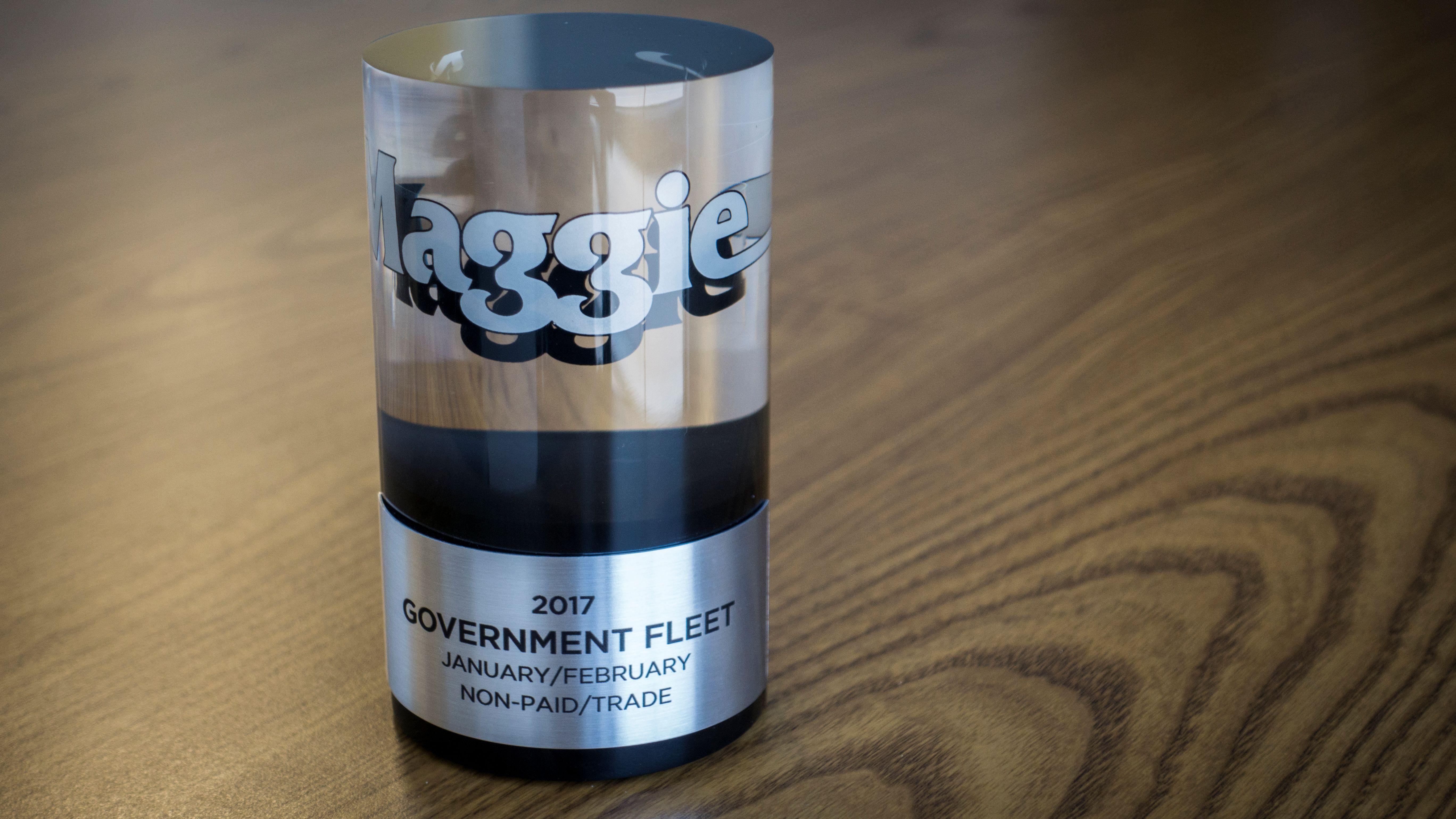 Government Fleet Wins Publishing Award